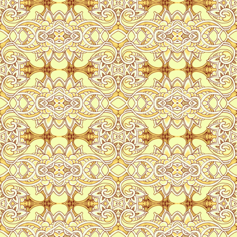 Lemon with Cocoa Icing fabric by edsel2084 on Spoonflower - custom fabric