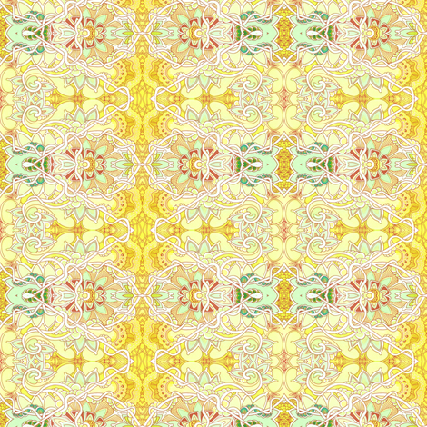 When Life Gives You Lemonade fabric by edsel2084 on Spoonflower - custom fabric