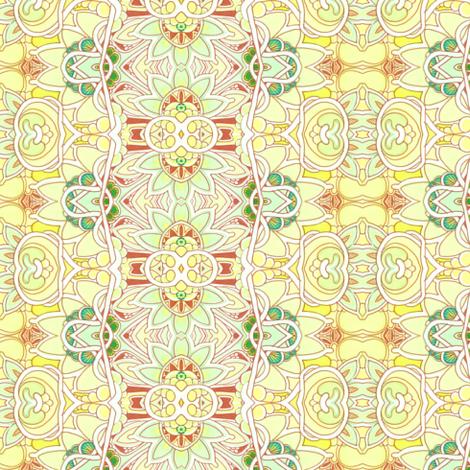 Lemonade Vertical Stripe fabric by edsel2084 on Spoonflower - custom fabric