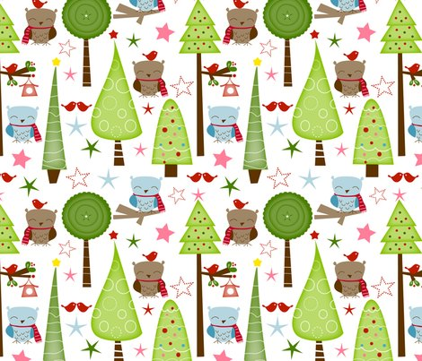 Rfabric_christmas_trees_and_owls_shop_preview
