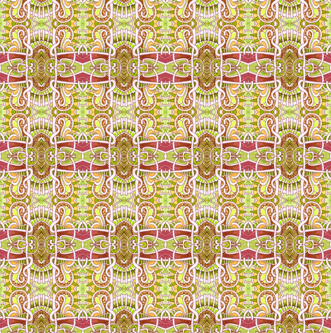 Mutant Summer Square Plaid  fabric by edsel2084 on Spoonflower - custom fabric