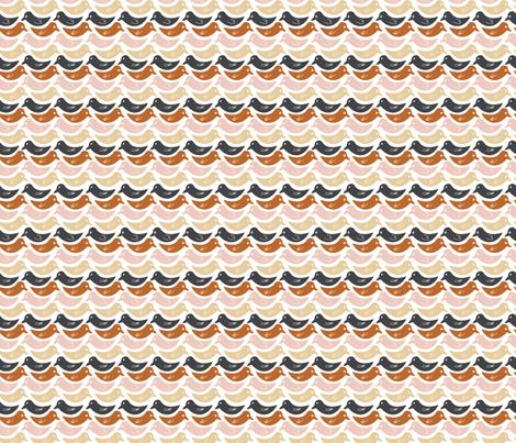 Little Birdies fabric by fabricdrawer on Spoonflower - custom fabric