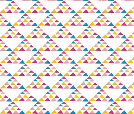 triangles triangle big fabric by studiojelien on Spoonflower - custom fabric