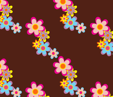 Fresh Floral fabric by wastedwings on Spoonflower - custom fabric