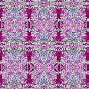 Interlocking Zig Zag Patchwork