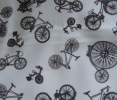 Bicycle bicycle bicycle - black and white