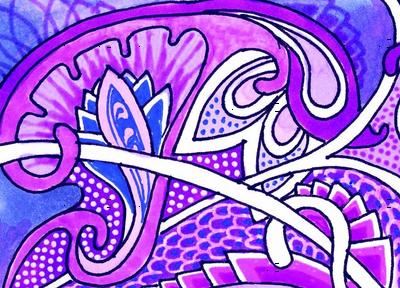 Purple Victorian Fantasy
