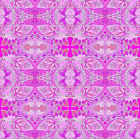 Mmmm Magenta fabric by edsel2084 on Spoonflower - custom fabric