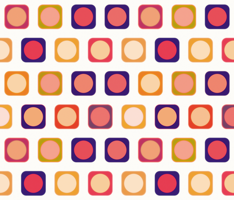 Circle Squares 5, L fabric by animotaxis on Spoonflower - custom fabric