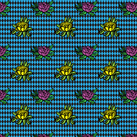 DERBY_FLOWERS_COORDINATE fabric by gsonge on Spoonflower - custom fabric