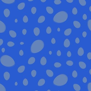Egg Spots in Blue