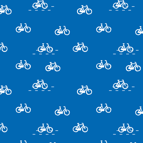 dutch bicycles fabric by studiojelien on Spoonflower - custom fabric