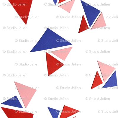 triangle redblue