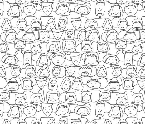 Imagine fabric by studiojelien on Spoonflower - custom fabric