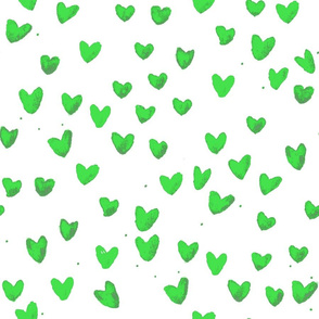 cestlaviv_New Green Watercolor Hearts
