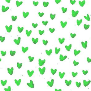 cestlaviv_New Green Watercolor Hearts