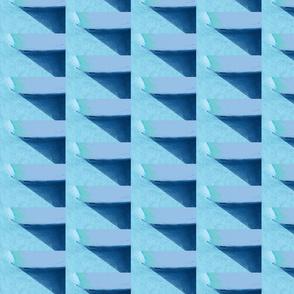 Blue Wall & Shadow