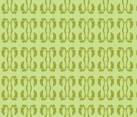 aloe bloom fabric by arianagirl on Spoonflower - custom fabric