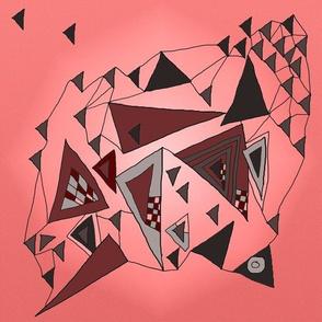 Mauve triangles