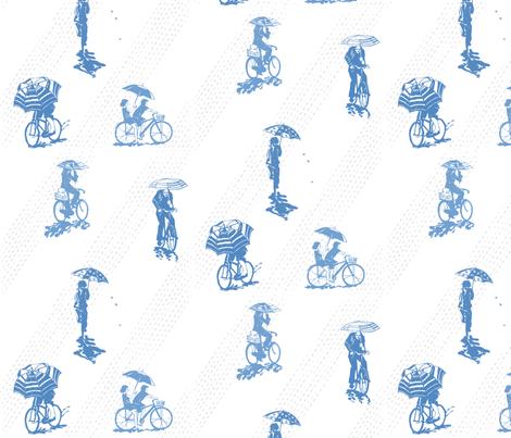 despite the rain fabric by johanna_design on Spoonflower - custom fabric