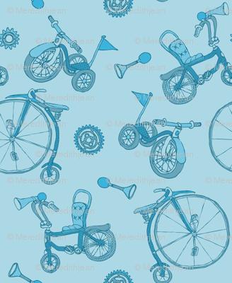 Pyjama Blue Bicycles