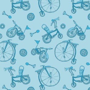 Pyjama Blue Bicycles
