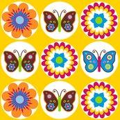 Rflowersbutterfliescirclesonyellow_shop_thumb