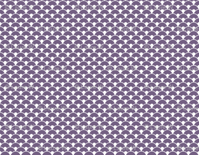 Purple sea