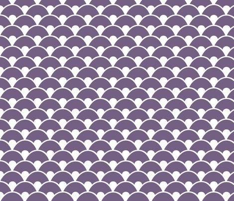 Purple sea fabric by wantit on Spoonflower - custom fabric