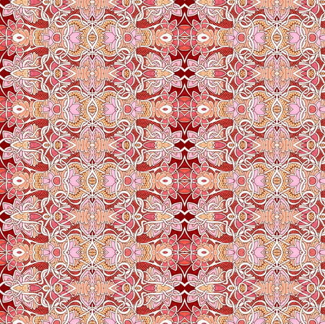 Weeds of the Red Planet fabric by edsel2084 on Spoonflower - custom fabric