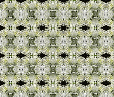 white_mum1 fabric by penelopeventura on Spoonflower - custom fabric