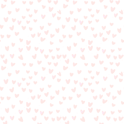 cestlaviv_MINI BLUSH HEARTS by C'EST LA VIV fabric by cest_la_viv on Spoonflower - custom fabric