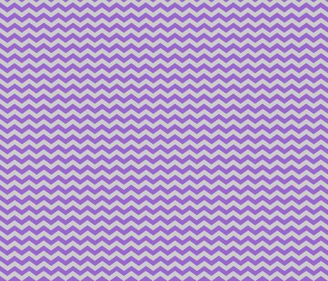 Purple Grey Chevron - jessicablair - Spoonflower