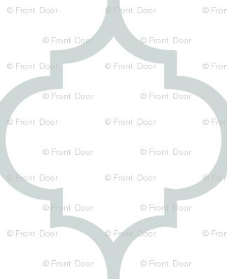 Fancy Lattice: Gray Outline