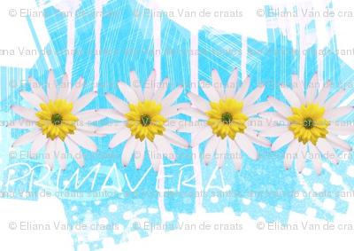Springtime collection Primavera blue