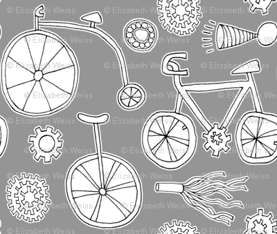 BIcycles, Ball Bearings, Gears, Fringe and Horn