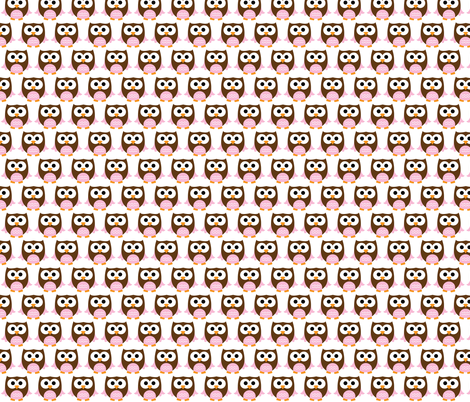 owl-2-ch fabric by littlesproutbaby on Spoonflower - custom fabric