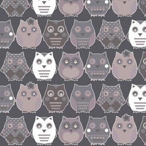 owls grey