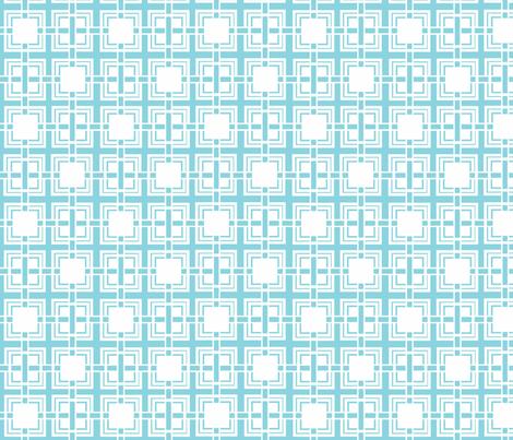 Blue_Weave fabric by designedtoat on Spoonflower - custom fabric