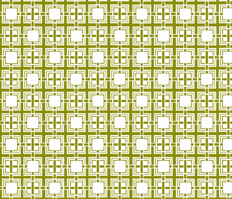 Green_Weave fabric by designedtoat on Spoonflower - custom fabric