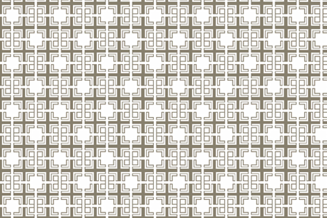 Taupe_Weave_ii fabric by designedtoat on Spoonflower - custom fabric