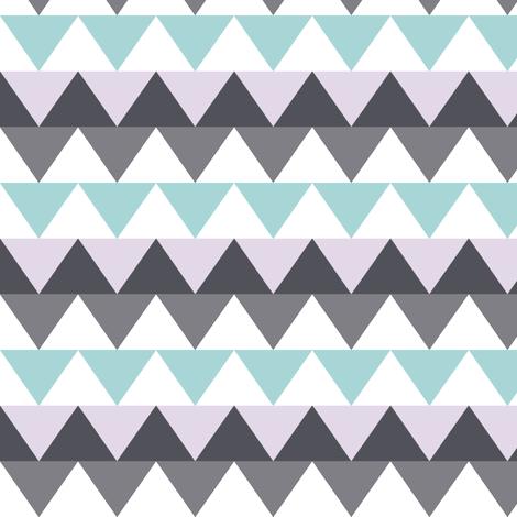 triangles owly fabric by katarina on Spoonflower - custom fabric