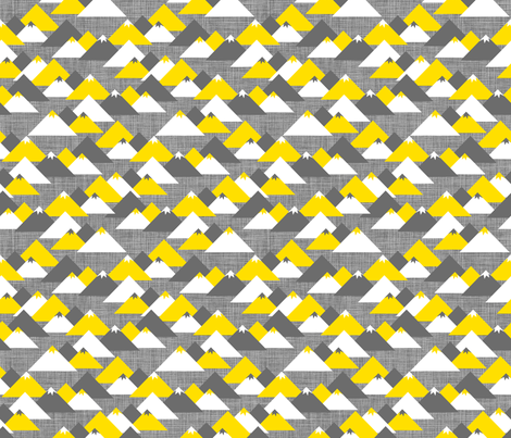 Les Montagnes fabric by zesti on Spoonflower - custom fabric