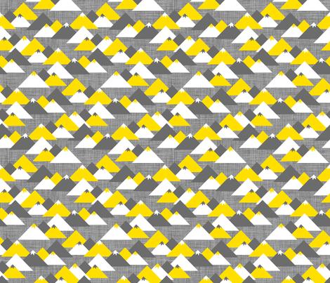 Les Montagnes fabric by zesti on Spoonflower - custom fabric