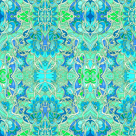 Enchante fabric by edsel2084 on Spoonflower - custom fabric