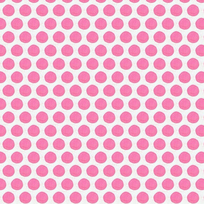 Quilted Pink Dots