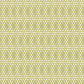 Quilted Green Dots