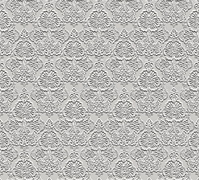 Faux Embossed Floral Repeat