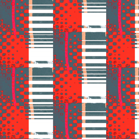 Old Danish fabric by _vandecraats on Spoonflower - custom fabric