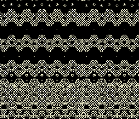 Old Danish Collection Black1 fabric by _vandecraats on Spoonflower - custom fabric